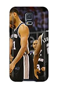 Best san antonio spurs basketball nba NBA Sports & Colleges colorful Samsung Galaxy S5 cases