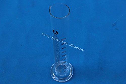 Cylindre gradué en verre de 500ml, verre borosilicate 3.3Matériau