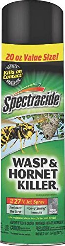 (New Case (12) Spectracide Hg-95715 20oz Wasp Hornet Insect Spray Bug 6329650)