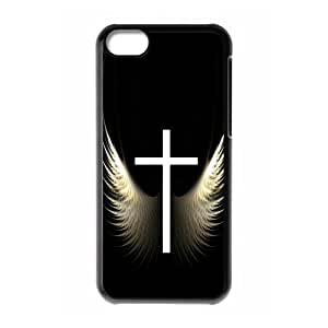 Classic Fashion Jesus Christ Cross Series Customized Special DIY Hard Case Cover for iPhone 5C