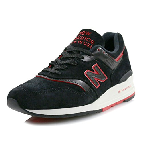 ab044751b157 Galleon - New Balance Men 997 Air Exploration M997DEXP - Made In USA (black    Red)