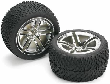 Traxxas 5573 Rear Tires and Wheels, Assembled, Jato, 2-Piece [並行輸入品]