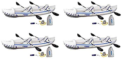 Sea Eagle SE370 Inflatable Sport Kayak Pro Package (Fоur Расk)
