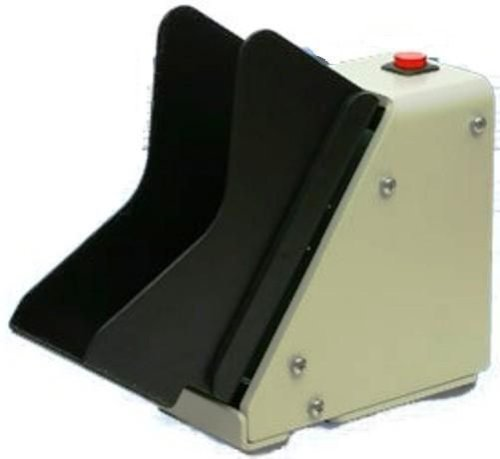 - Shear Tech MJ-1000 Automatic Check Jogger, Jogging tray holds up to 250 checks, Very small size (2.8