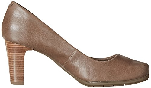 Tumbled Pump Rockport Total Motion Goat Taupe New Women's tfawOaYq