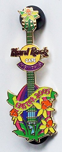 Limited Edition of 100 Hard Rock Cafe Easter 2005 Guitar Collectible Pin 2005 Lapel Pin