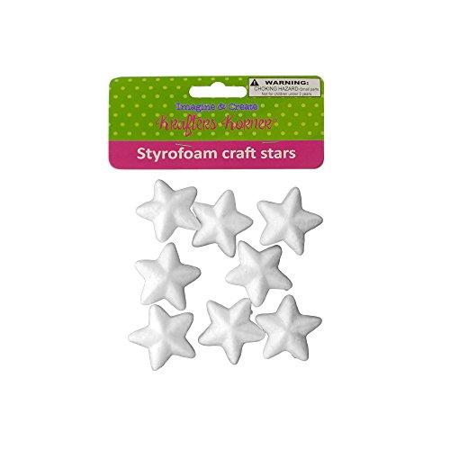Kole Imports Styrofoam Craft Stars