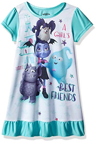 Disney Girls' Toddler Vampirina Nightgown, Ghouly, 4T