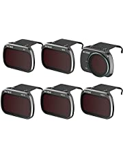 Homehod ND Filters Set for DJI Mini 2 Accessories (CPL, UV, ND8, ND16, ND32, ND64) 6 Pack for DJI Mavic Mini