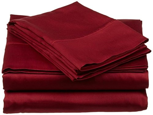 600 Thread Count 4-Piece 100% Cotton Sheets