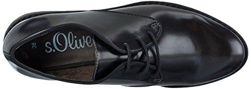 290 Grey Scarpe s Oliver Basse Stringate 23601 Donna Silver Grigio Oxford H6v17qOxv