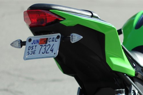 Kawasaki 2013 2014 2015 2016 2017 Ninja 300 Pod Signal Kit, Fender Eliminator, Plate Light, and Resistors Bundle