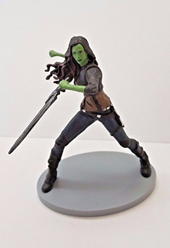 """Disney Guardians of the Galaxy Vol. 2 Gamora 3.25"""" Loose PVC Cake Topper Action Figure Figurine Toy"""