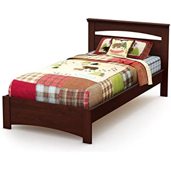 Amazon Com South Shore Sweet Morning Twin Bed Royal