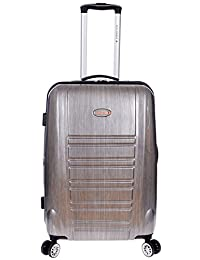 "Air Canada 24"" Spinner Hardside Suitcase Charcoal"
