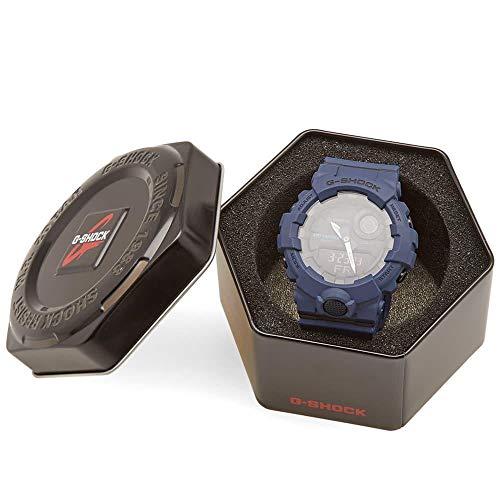 CASIO Grey Plastic Watch-GBA-800UC-2AER