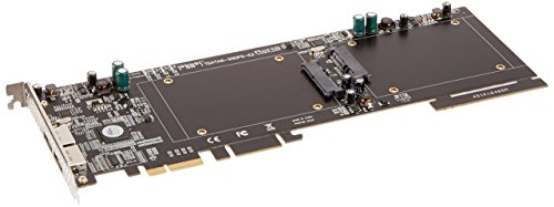 Sonnet Tempo SSD Pro Plus 6Gb/s SATA PCIe 2.0 Card for Dual SSDs, Thunderbolt Compatible, (TSATA6-SSDPS-E2) by Sonnet Technologies