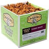 Darford Holistic All Natural Grain Free Turkey Recipe Bulk Dog Treats, 19-Pound
