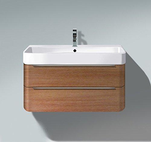 Duravit Unit Vanity (Duravit H2636501313 HD2 Vanity unit WM Ame Walnut 380x775x480mm, f.231880, 2 drawers, American)