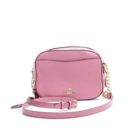 Pink Coach Handbag - 2