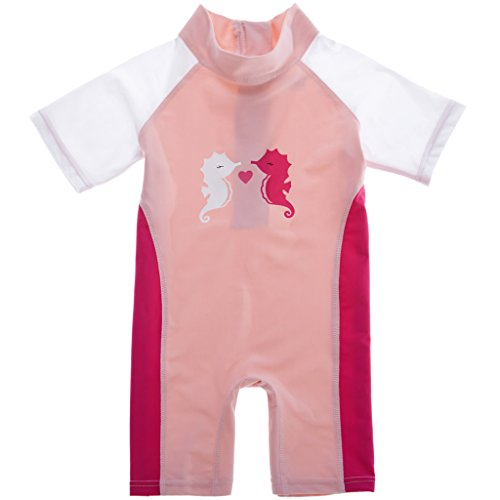 Sociala Baby Girls Toddlers Sun Protection Swimsuit All in One Wetsuit 12 months