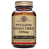 Solgar – Psyllium Husks Fiber 500 mg, 200 Vegetable Capsules For Sale