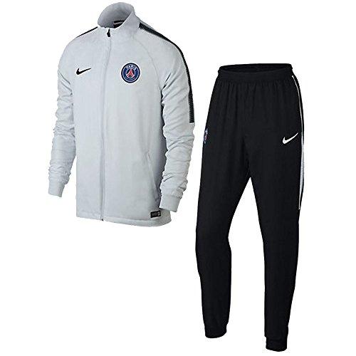 Nike 2017-2018 PSG Dry Woven Tracksuit (White)