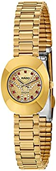 Rado R12559033 Stainless Steel Yellow Gold Coated Women's Watch