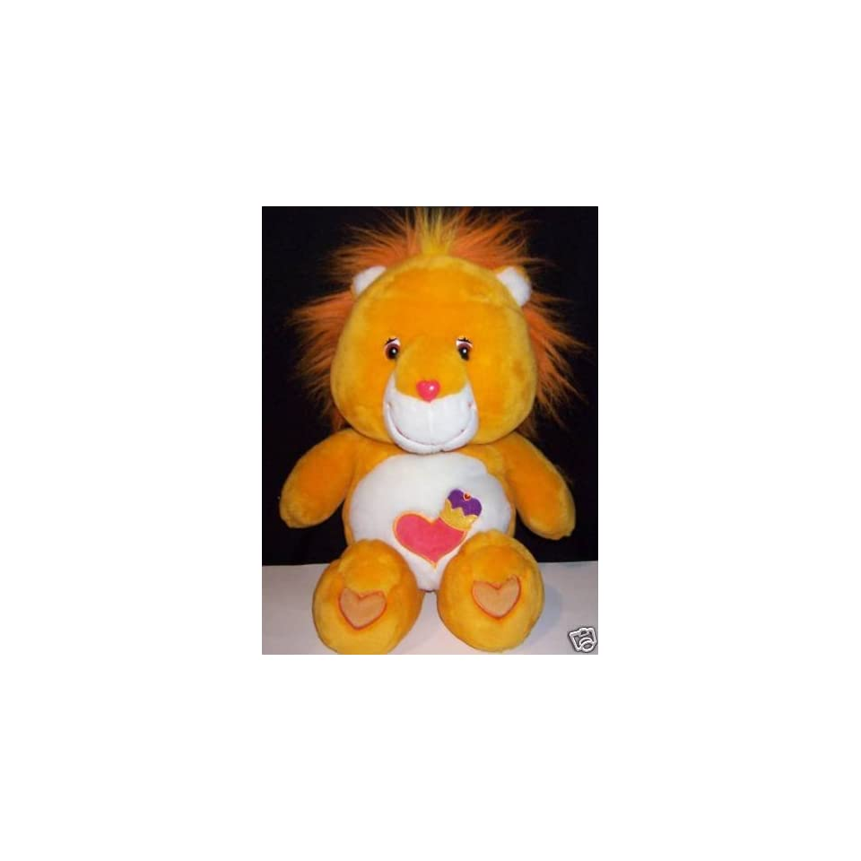 Brave Heart Lion Care Bear Cousin Deluxe Plush