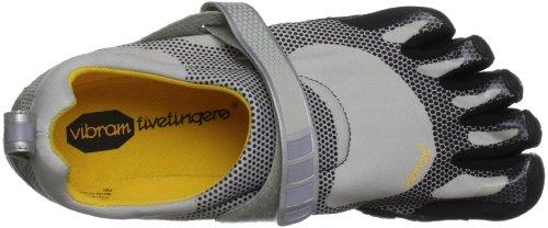 FiveFingers Bikila M, Chaussures de Running Compétition homme Argent - Argenté