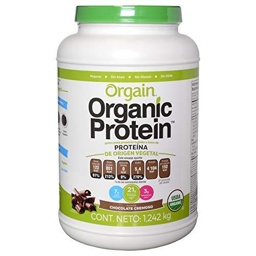 Proteína Orgánica Vegetal certificada Orgain Organic Protein 2.7 Lbs Sabor chocolate