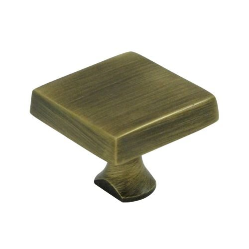 Deltana KBSU5 Alternative to Round Sold Separately Solid Brass Square Knob for HD Bolt