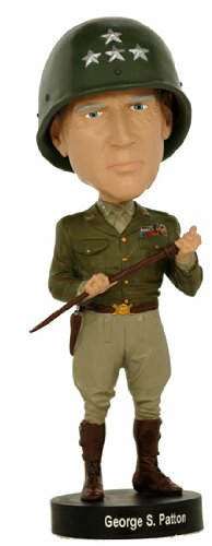 Royal Bobbles George Patton Bobblehead