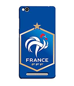 ColorKing Football France 14 Blue shell case cover for Xiaomi Redmi 5A