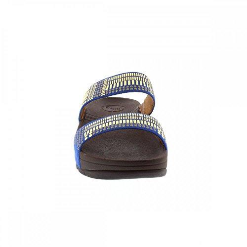 Ladies Chada Dames Chada New Slide Sabot Fitflop Aztec Slide Sabot Bleu Blue Aztec Nouvelles Fitflop tnqxYY8wP0