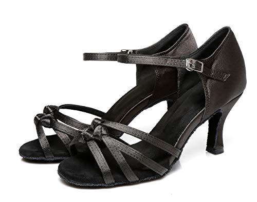 Sala black Nero Minitoouk Eu 7 Donna l352 Da 5cm Heel Minitoo 35 ARwtg