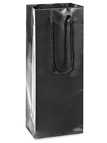 Store Sparkling Wine (Brilliant Bag Co - 10 pack - High Gloss Wine Bags - 5