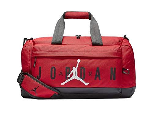 (Nike Air Jordan Velocity Duffle Bag (One Size, Gym Red) )