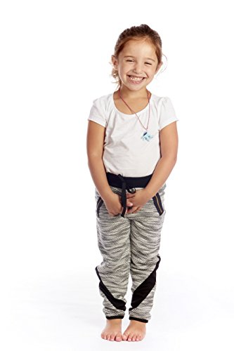 [Crush Toddler Terry Space Dye Cut & Sew Athletic Pants Zip Pockets Size 4T Black] (Terry Zip Pocket Pant)
