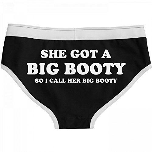She Got A Big Booty Funny Undies: Boyfriend Brief Underwear