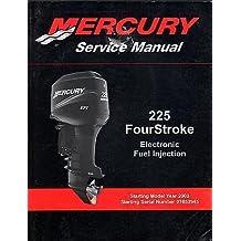 2003-2010 MERCURY OUTBOARD 225 FOUR STROKE P/N 90-8M0047913 SERVICE MANUAL (433)