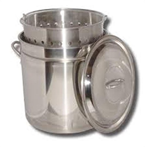 King Kooker Ridged Stainless Steel Pot, 44-Quart by King Kooker