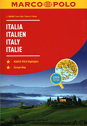 Italy Marco Polo Road Atlas