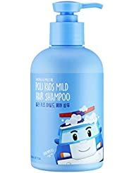 [DAENG GI MEO RI] Poli Kids Mild Hair Shampoo 300ml (Robocar Poli) - Natural Ingredients for Sensitive Scalp