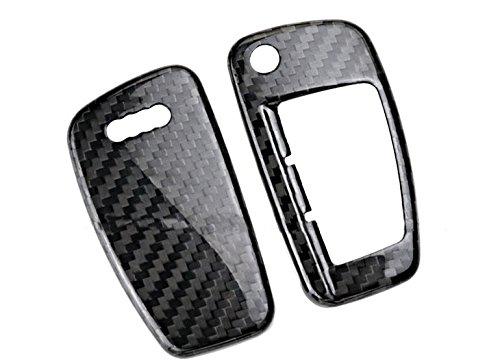 Eppar Carbon Fiber Key Box Cover for AUDI R8 2010-2017 (Folding Key)