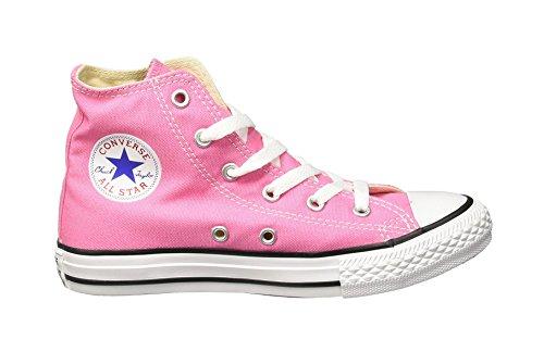 Converse Kids Chuck Taylor All Star Hi Top Sneaker (2 M US Little Kid, Pink)