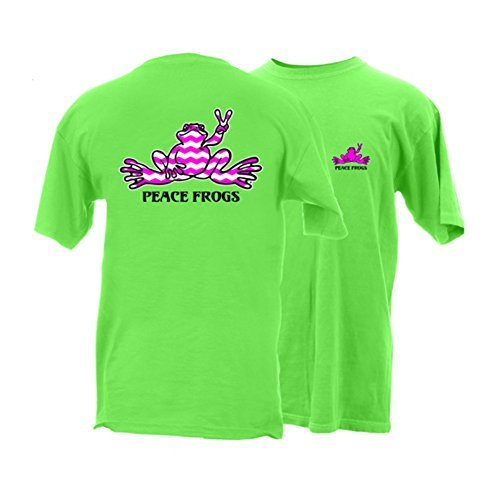 peace-frogs-adult-chevron-frog-short-sleeve-t-shirt