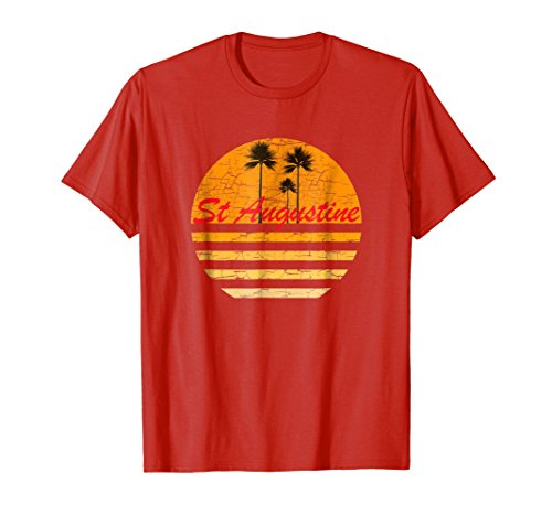 St. Augustine Vintage Retro T-Shirt 70s Throwback Surf ()