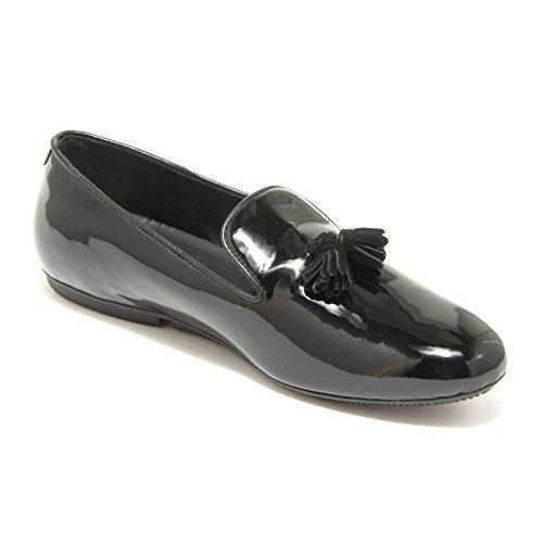 scarpe loafers Nero women wrap 35523 HOGAN mocassini shoes donna wXgxIO