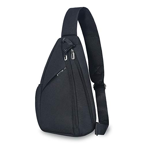 UNIQUEBELLA Sling Backpack Sling Bag Small Crossbody Daypack Casual Backpack Chest Bag Rucksack for Men and Women